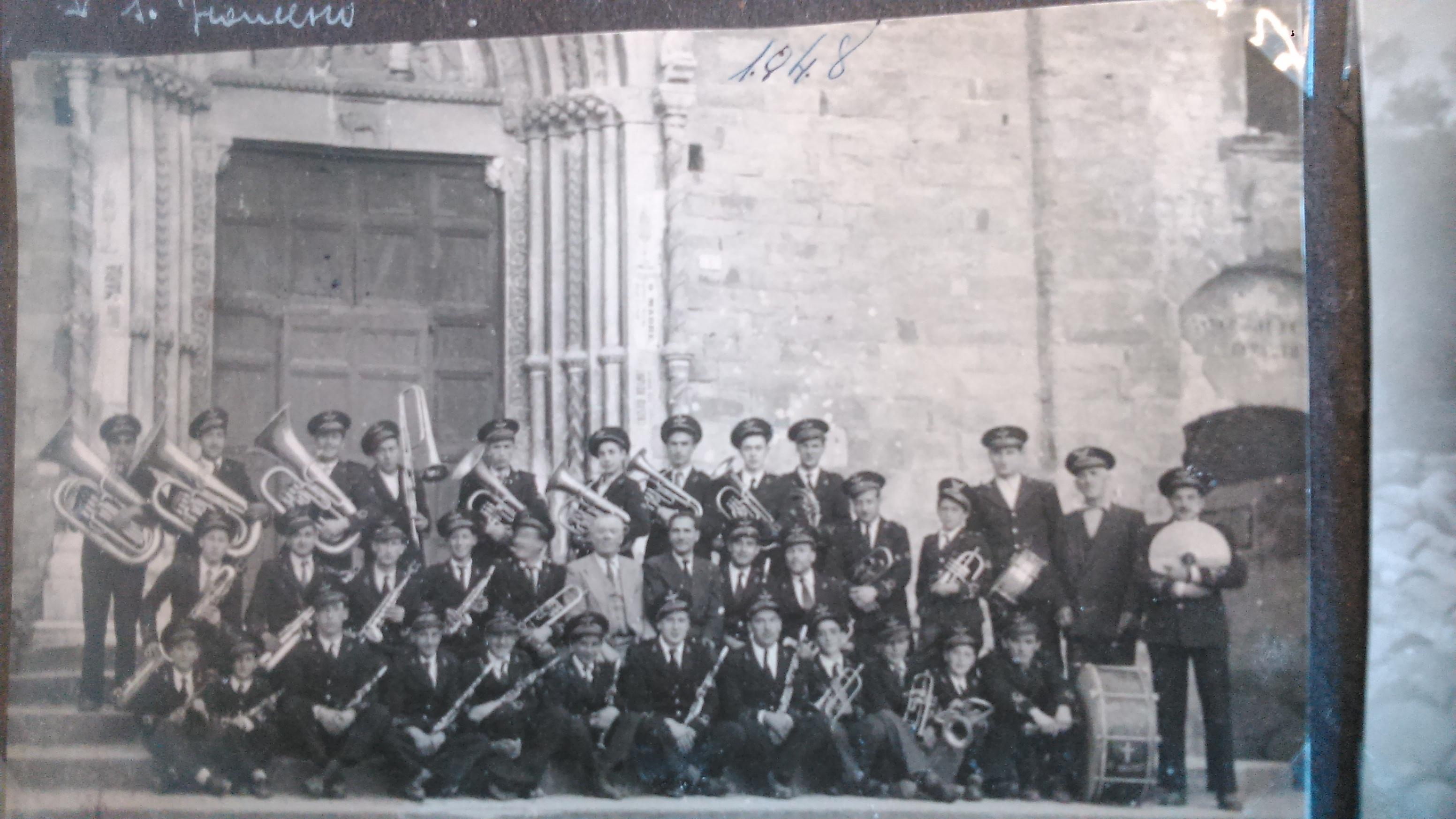 La Banda di Amatrice nel 1948