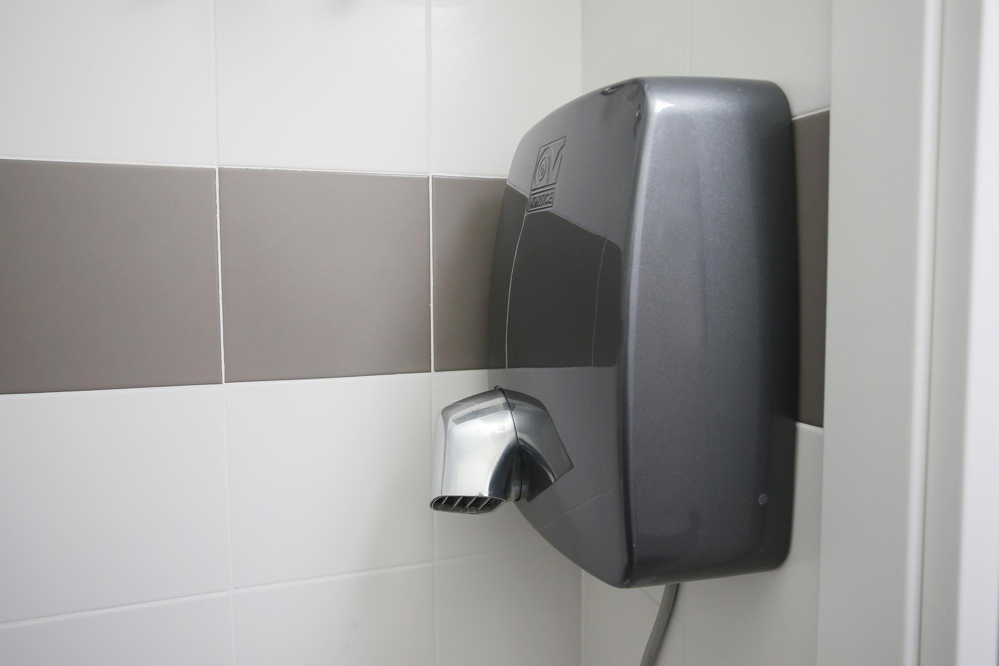 L'Asciugamani elettrico donato da Vortice S.p.a.