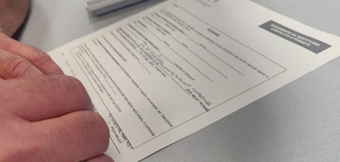 La firma del contratto con Enel
