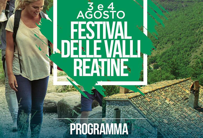 La locandina del Festival delle Valli Reatine