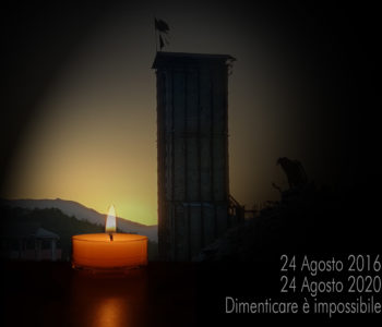 4° anniversario del Terremoto del 24 agosto 2016